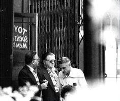 Very rare surveillance photo of Nicky Marangello, Jimmy fort lee Capasso and Marty Rastelli outside toyland