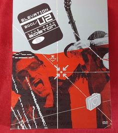 U2 Elevation Live From Boston DVD 2001 Concert 2 Disc Booklet Bono Edge Rock