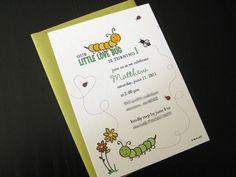 garden bug theme birthday party
