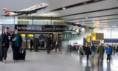 London major airports include Heathrow, Gatwick or Luton.