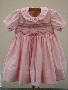 In love with this Smocked dress
