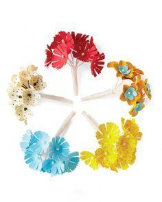 Paper Flower Nosegays