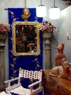 La Quinta de San Antonio's store window, in Puebla, Mexico