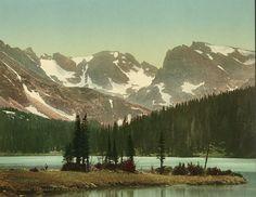 The heart of the Rockies, Rocky Mountain National Park, Colorado, U.S.
