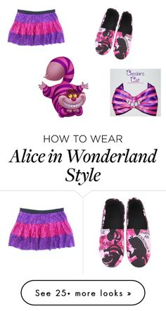 """Cheshire // Hermione"" by we-are-the-fandom-girls on Polyvore featuring Disney"