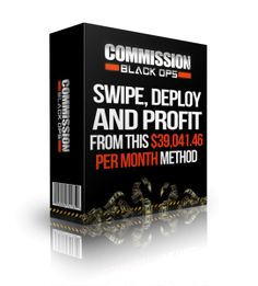 "You can't go anywhere online right now without hearing something about Michael Cheney's ""Commission Black Ops"".  The hype is phenomenal.  It seems everyone is keen to promote this thing and make a quick buck.  But what is it rea"