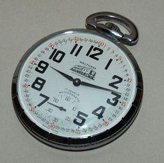 Waltham Gentlemen's 17 Jewel Rail Road Pocket Watch