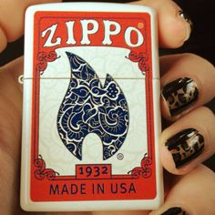 Zippo Lighter, made like a deck of cards
