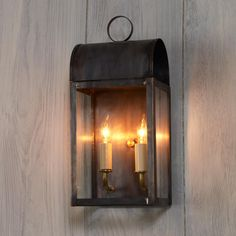 Arched Outdoor Light - 2 Light