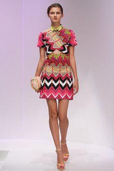 Carven Spring 2012 Collar Dress