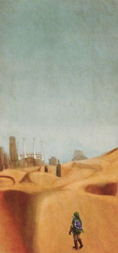 The desert (Twilight Princess)