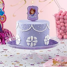 What's not to love about this royal cake? Check out our Sofia the First cake how-to for the sweet details!