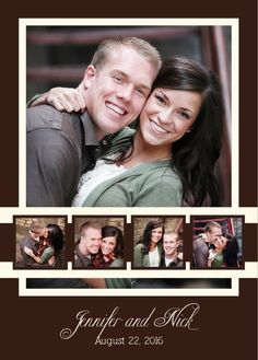 Your special day can be announced with the Photo Ribbon.