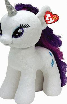 246a56cef03 My Little Pony Ty Beanie Plush Rarity Pony New with Tags!