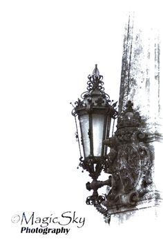 Street photography Street LAMP architecture by PhotoTypography