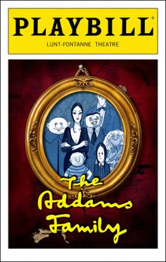 Addams Family Playbill - Opening Night