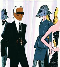 Jordi Labanda - Karl Lagerfeld