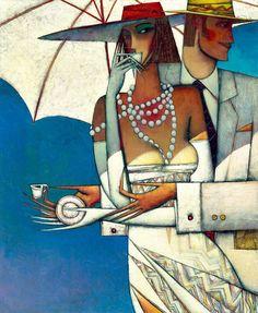 """""""Paradise"""" - artist Andrei Protsouk, born in Donet'sk, Ukraine in 1961."""
