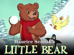 """""""Maurice Sendak's Little Bear"""".  The show, aimed at children 5 and younger, brings back the simplicity and whimsy of childhood. What a treat to watch!"""