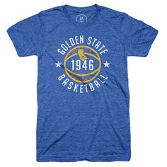 """""""Golden State Basketball"""" designed by Vittorio Fragale. A vintage homage to the most dominant basketball team on earth!"""