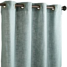 Office drapes Rich Luxury Blythe Curtain Smoke Blue Pier Seems Like Subtle Option Not See Through But Not Darkening Either Korrie Browning Office Curtains Amazoncom 15 Best Office Curtains Images Office Curtains Block Prints