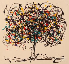 Abstract Tree Painting by Vladinsky - Abstract Tree Fine Art Prints and Posters for Sale