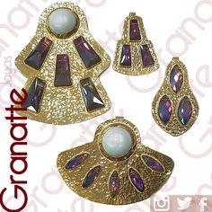 #dijes #cristales #criatal #perla #goldfilled #perlas #perlaShell #joyas #accesorios #granatte #mujer