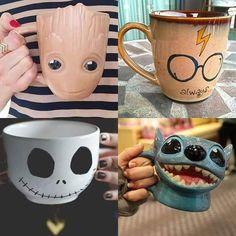 Watch Avengers: Endgame HD Online For Free Cute Coffee Mugs, Cool Mugs, Coffee Cups, Interior Design Examples, Disney Cups, Coffee Is Life, Mug Cup, Mug Designs, Tea Pots