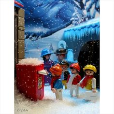 Lego, Tiny World, Never Grow Up, Winter Wonder, Winter House, Treasure Boxes, Action Figures, Childhood, Dolls