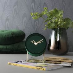 For a stylish wake-up call you can't beat this Lush Green Velvet Alarm Clock! In a gorgeous forest green polyester velvet with detachable gold legs. Wedding Gift List, Honeymoon Fund, Luxury Duvet Covers, Luxury Towels, Gold Interior, Making Waves, Jar Storage, Lush Green, Green Velvet