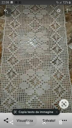 Crochet Doily Patterns, Crochet Doilies, Crochet Lace, Fillet Crochet, Chart, Crochet Table Runner, Crochet Kids Hats, Crochet Home Decor, Crochet Tablecloth