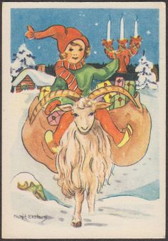 Nordic Thoughts: No Christmas without the Yule Goat!