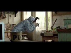 Pigs and news. Guardian commercial. Amazing how much you can fit in 2 minutes.