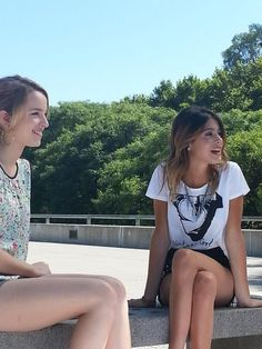 with Martina Stoessel.