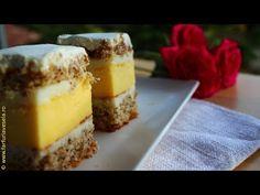 Prajitura pentru zi de sarbatoare | Farfuria vesela - YouTube No Cook Desserts, Cheesecake, Deserts, Make It Yourself, Cooking, Sweet, Youtube, Food, Sweets