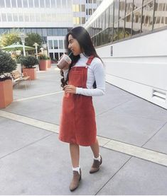 school outfits🥰 Modest Casual Outfits, Modest Wear, Modest Fashion, Fashion Outfits, Church Outfit Fall, Church Outfits, Fall Outfits, School Outfits, Church Outfit For Teens