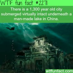 underwater city - WTF fun facts