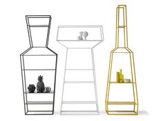 Sectional shelving unit APRIL, MAY, JUNE by Bonaldo | design Gino Carollo