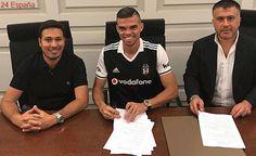 Pepe firma dos temporadas con el Besiktas