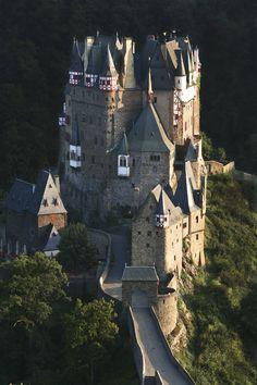 Burg Eltz kasteel, Duitsland .