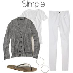Simple by itztru on Polyvore featuring J.Crew, Zucca and Kyler by Joy O