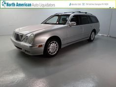 Car of the day.  2000 Mercedes-Benz E-Class with 166,520 K miles for $4,381