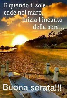Italian Memes, Italian Quotes, Good Morning Good Night, Good Night Quotes, Hello Beautiful, Beautiful Roses, Good Evening Wishes, Italian Life, Desiderata