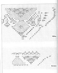 Kira knitting: Scheme knitted tablecloths 24
