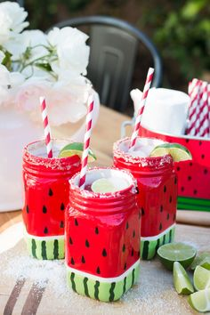 Let's do this Monday! Trading in our Monday Morning Wrap-Up post for a fun summer cocktail recipe for this month's Michaels Makers' challenge. I chose to highlight their darling watermelon picnic line. It is vibrant and fun and instantly looks like a good time. MichaelsMakers A Thoughtful Place