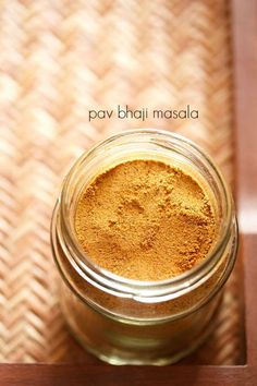 homemade pav bhaji masala powder recipe with step by step photos - a spice mix that is added to the famous mumbai pav bhaji. this is a strong and aromatic masala and the pav bhaji that you will make with it, will only get better. Veg Recipes, Curry Recipes, Indian Food Recipes, Real Food Recipes, Bhaji Recipes, Indian Foods, Smoker Recipes, Milk Recipes, Gourmet