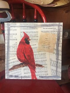 A personal favorite from my Etsy shop https://www.etsy.com/listing/266936098/cardinal-its-a-visitor-from-heaven