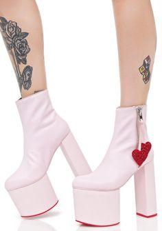 Sugarbaby Heartstomper Platform Boots