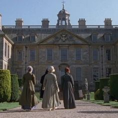 Belton House is a gorgeous 17th century manor home in Lincolnshire and appears in the BBC miniseries as Rosing Park, home to Darcy's stern and stuffy aunt, Lady Catherine de Bourgh.