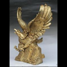 Creative Resin Eagle Figurine 2673 Animals